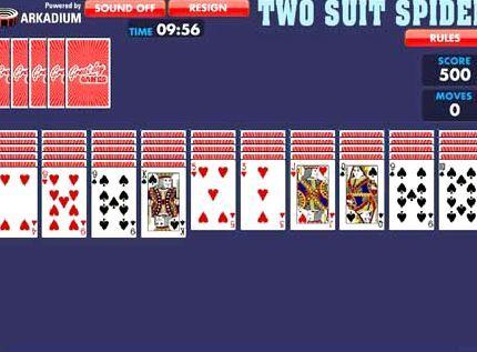 игра в карты паук одна масть играть бесплатно в 2 масти без регистрации