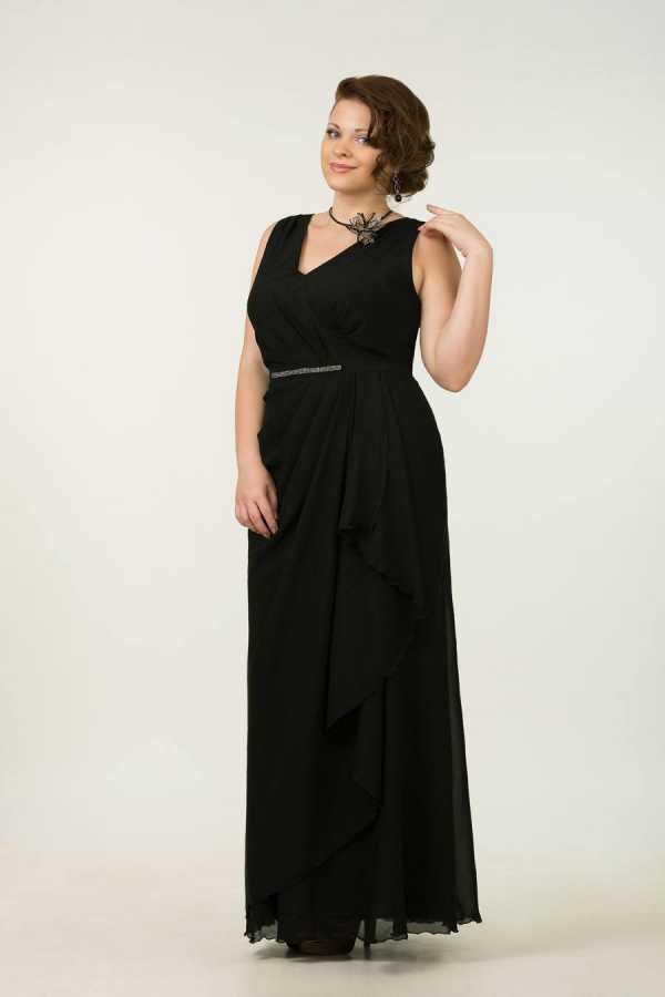 d9d1795204d Для полных платья с накидками. Вечерние платья для полных  100+ фото ...