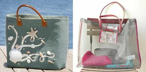 1e0b38cbf025 Как сшить пляжную сумку из ткани — выкройки. Как сшить пляжную сумку ...