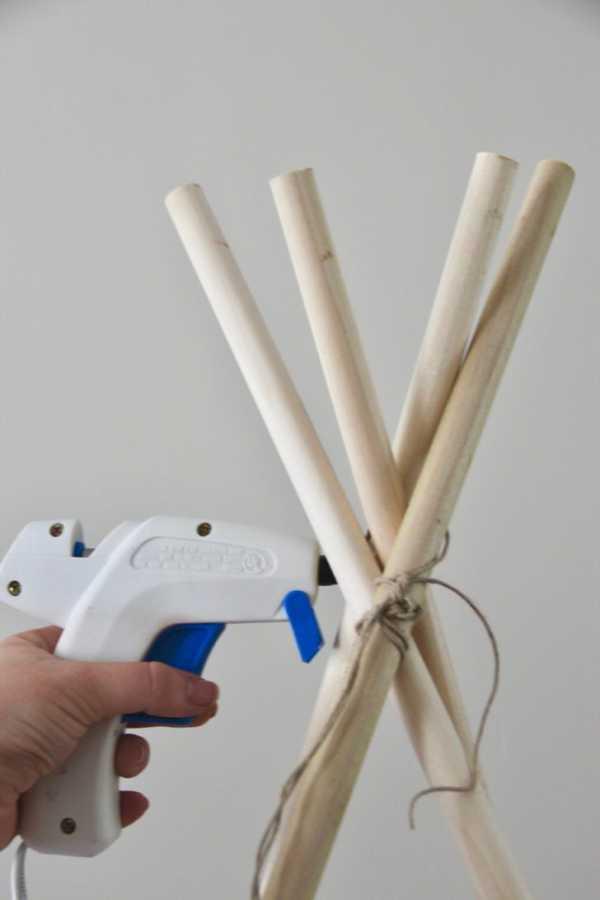 Сооружение детского вигвама своими руками: мастер-класс с пошаговым фото